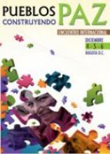 """Rencontre internationale """"Pueblos contruyendo Paz"""""""