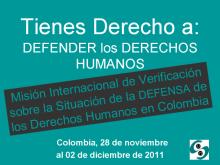 Imagen de campaña de la Misión Internacional.